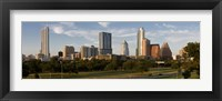 Framed Buildings in a city, Austin, Texas