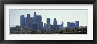 Framed Skyscrapers in a city, Los Angeles, California, USA 2009
