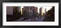 Framed City of Los Angeles, California