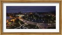 Framed High angle view of a city, Big Spring Park, Huntsville, Madison County, Alabama, USA
