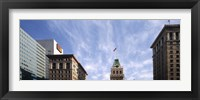 Framed Buildings in a city, Tribune Tower, Oakland, Alameda County, California, USA
