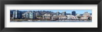 Framed Buildings at the waterfront, Portland, Multnomah County, Oregon, USA 2011