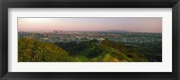 Framed Cityscape, Santa Monica, City of Los Angeles, Los Angeles County, California, USA