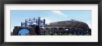Framed Football stadium in a city, Bank of America Stadium, Charlotte, Mecklenburg County, North Carolina, USA
