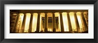 Framed Columns surrounding a memorial, Lincoln Memorial, Washington DC, USA
