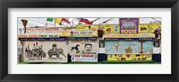 Framed Old Store Front along Riegelmann Boardwalk, Long Island, Coney Island, New York City, New York State, USA