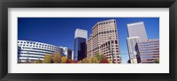 Framed Low angle view of skyscrapers, Downtown Denver, Denver, Colorado, USA 2011