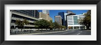 Framed Buildings in a city, Downtown Denver, Denver, Colorado, USA