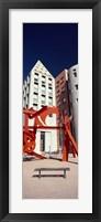Framed Lao Tzu sculpture in a city, Denver City, Denver, Colorado, USA
