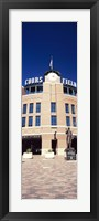 Framed Facade of a baseball stadium, Coors Field, Denver, Denver County, Colorado, USA