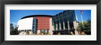 Framed Building in a city, Pepsi Center, Denver, Colorado