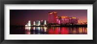 Framed Casinos at the waterfront, Laughlin, Nevada