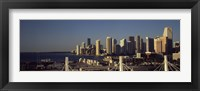 Framed Buildings in a city, Miami, Florida, USA