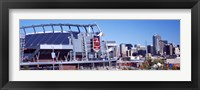 Framed Sports Authority Field at Mile High, Denver, Colorado