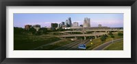 Framed Highway interchange, Kansas City, Missouri, USA