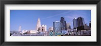 Framed Low angle view of downtown Kansas City