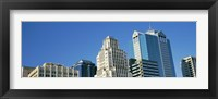 Framed Close up of buildings in Downtown Kansas City, Missouri