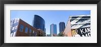 Framed Street art at Downtown Kansas City, Missouri, USA
