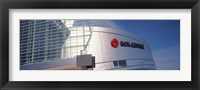 Framed BOK Center, Tulsa, Oklahoma