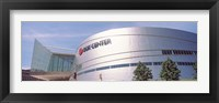 Framed BOK Center at downtown Tulsa, Oklahoma