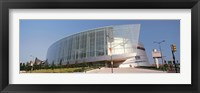 Framed View of the BOK Center, Tulsa, Oklahoma