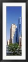 Framed Reflection on BMO Bank building, Oklahoma City, Oklahoma, USA