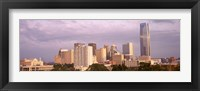 Framed Downtown skyline, Oklahoma City, Oklahoma