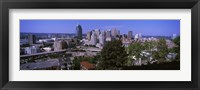 Framed Downtown skyline, Cincinnati, Hamilton County, Ohio, USA