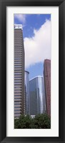 Framed Low angle view of a building, Houston, Texas, USA