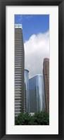 Framed Wedge Tower, ExxonMobil Building, Chevron Building, Houston, Texas
