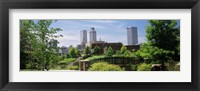 Framed Buildings in a city, Tulsa, Oklahoma, USA