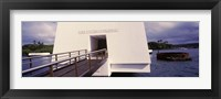 Framed USS Arizona Memorial, Pearl Harbor, Honolulu, Hawaii