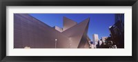 Framed Art museum in a city, Denver Art Museum, Frederic C. Hamilton Building, Denver, Colorado, USA