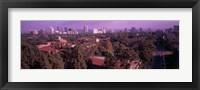 Framed University campus, University Of California, Los Angeles, California, USA