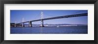Framed Bay Bridge, San Francisco, CA