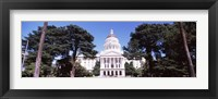 Framed California State Capitol Building, Sacramento, California
