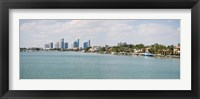 Framed Buildings at the waterfront, Miami, Florida, USA (daytime)