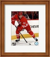 Framed Jeff Skinner On Hockey Ice