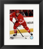 Framed Jeff Skinner On Hockey Ice