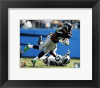 Framed Golden Tate Football Reception