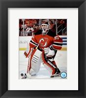 Framed Martin Brodeur On Hockey Ice