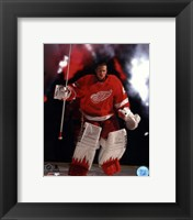 Framed Jimmy Howard 2013-14 Action