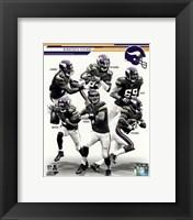 Framed Minnesota Vikings 2013 Team Composite
