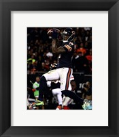 Framed Brandon Marshall with the ball 2013