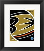 Framed Anaheim Ducks 2013 Team Logo