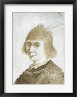 Framed Portrait of a Lady