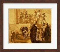 Framed Christ Before Pilate