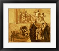 Framed Christ Before Pilate