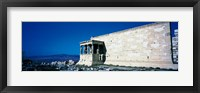 Framed Parthenon Complex Athens Greece