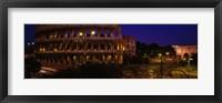 Framed Italy, Rome, Colosseum